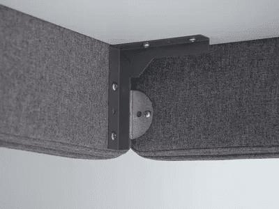 Äänieristesermi, pöytäseinäke